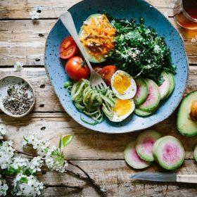 gewichtsconsulentes voedingspatroon eten voeding