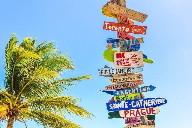 nieuwe taal leren naambordjes talen